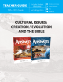 Cultural Issues: Creation/Evolution and the Bible Teacher Guide