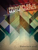 Principles of Mathematics Book 1: Student