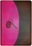 The Evidence Bible (NKJV): Duo Tone Pink/Brown