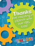 Time Lab VBS: Staff Appreciation Postcards