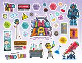 Time Lab VBS: Logo & Clip Art Sticker Sheet