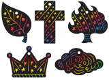 Time Lab VBS: Scratch Art Set