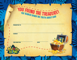 MYSTERY ISLAND VBS: COMPLETION CERTIFICATES