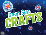 MYSTERY ISLAND VBS: DEEP SEA CRAFTS ROTATION SIGN
