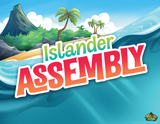 MYSTERY ISLAND VBS: ISLANDER ASSEMBLY ROTATION SIGN