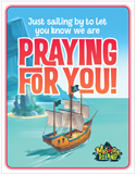 MYSTERY ISLAND VBS: PRAYING FOR YOU POSTCARD