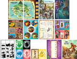 MYSTERY ISLAND VBS: JUNIOR AND PRIMARY ILLUSTRATION POSTERS
