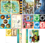 MYSTERY ISLAND VBS: PRE-PRIMARY AND TODDLER ILLUSTRATION POSTERS
