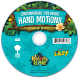 MYSTERY ISLAND VBS: STUDENT HAND MOTIONS DVD: Contemporary