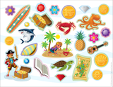 MYSTERY ISLAND VBS: STICKERS
