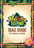 MYSTERY ISLAND VBS: TRAIL GUIDE AND STICKER SET: PRE-PRIMARY AND TODDLER: ESV