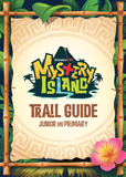 MYSTERY ISLAND VBS: TRAIL GUIDE AND STICKER SET: JUNIOR AND PRIMARY: ESV