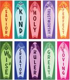 MYSTERY ISLAND VBS: ATTRIBUTES OF GOD CARDBOARD CUTOUTS