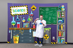 MYSTERY ISLAND VBS: SCIENCE FABRIC SCENE SETTER