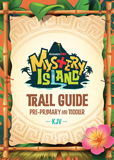 MYSTERY ISLAND VBS: TRAIL GUIDE AND STICKER SET: PRE-PRIMARY AND TODDLER: KJV