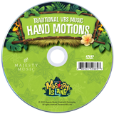 MYSTERY ISLAND VBS: STUDENT HAND MOTIONS DVD: Traditonal