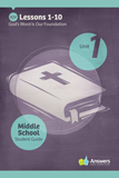 ABC: Middle School Student Guide Year 1 (KJV): Unit 1