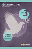 ABC: Middle School Student Guide Year 1 (KJV): Unit 3