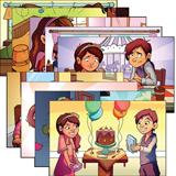 ABC: Pre-K – Grade 1 Justin and Jessie Posters: Unit 5