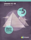 ABC: Middle School Teacher Guide: Unit 5