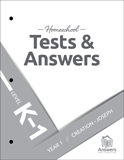 ABC Homeschool: K-1 Tests and Answers