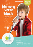 Contemporary Memory Verse Music Leader Pack