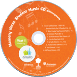 Contemporary Memory Verse Student Music CD 10 Pack