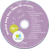 Pre-K – Grade 1 Contemporary Song Time Tunes CD Single Copy