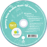 ABC: Contemporary Memory Verse Student Music CD Year 2: 10 Pack