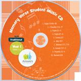 ABC: Traditional Memory Verse Student Music CD Year 1 (KJV): Single Copy