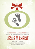 The Creator Announces the Birth Christmas Cards