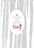 Let Heaven and Nature Sing Christmas Cards