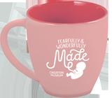 Fearfully & Wonderfully Made Mug: PINK