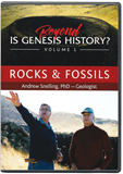 Beyond Is Genesis History? Vol. 1 Rocks and Fossils with Dr. Andrew Snelling: DVD