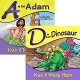 A is for Adam and D is for Dinosaur Combo
