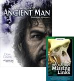 The Genius of Ancient Man / Apemen    2-book COMBO