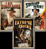Buddy's Amazing Adventures 3-DVD Combo