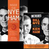Inside the Nye-Ham Debate Book and DVD Combo