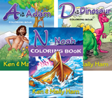 Creation Coloring Book Combo