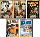 Buddy Davis' Amazing Adventures 5-DVD Combo