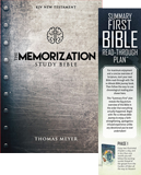 The Memorization Study Bible: with Bookmark