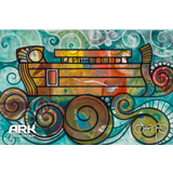 Oscar Ark on the Waves Postcard: 10 pack