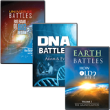 Earth, Universe & DNA Battles DVD Combo