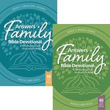 Answers Family Bible Devotional Books 1 and 2
